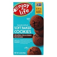Enjoy Life Foods - Double Chocolate Brownie Cookies - 6 oz. by Enjoy Life Foods