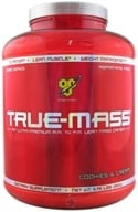 Image of BSN - True-Mass Lean Mass Gainer Cookies & Cream - 5.75 lbs.