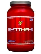 Image of BSN - Syntha-6 Sustained Release Protein Powder Chocolate Peanut Butter - 2.91 lbs.