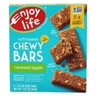 Enjoy Life Foods - Chewy On The Go Bars Caramel Apple - 5 Bars by Enjoy Life Foods