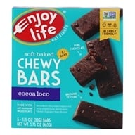 Gluten Free Allergy Friendly Chewy Bars Cocoa Loco - 5 Bars by Enjoy Life Foods