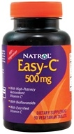 Natrol - Easy-C Vitamin C with Bioflavonoids 500 mg. - 90 Vegetarian Tablets
