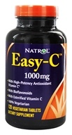 Image of Natrol - Easy-C Vitamin C with Bioflavonoids 1000 mg. - 120 Vegetarian Tablets