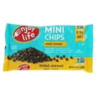 Enjoy Life Foods - Gluten-Free, Vegan Semi-Sweet Mini Chips - 10 oz.