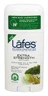 Lafe's - 24-Hour Protection Deodorant Stick Extra Strength Coriander Oil & Tea Tree - 2.25 oz.