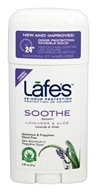 Lafes - Natural and Organic Deodorant Stick Lavender - 2.5 oz. LUCKY DEAL