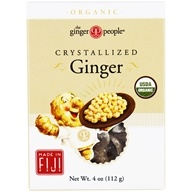 Ginger People - Organic Crystallized Ginger - 4 oz. (734027920019)