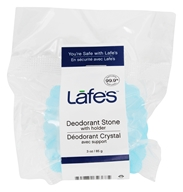 Lafes - Natural and Organic Deodorant Crystal Stone Fragrance-Free - 3 oz. (792870323685)