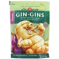 Ginger People - Gin Gins Chewy Ginger Candy Original - 3 oz.