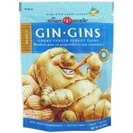 Ginger People - Ginger Chews Peanut Flavor - 3 oz.