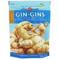 Ginger People - Ginger Chews Peanut Flavor - 3 oz. by Ginger People