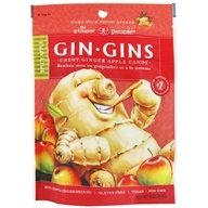 Ginger People - Ginger Chews Spicy Apple Flavor - 3 oz.