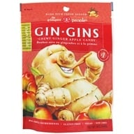 Ginger People - Ginger Chews Spicy Apple Flavor - 3 oz. by Ginger People