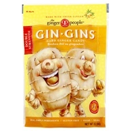 Ginger People - Gin Gins Double Strength Ginger Hard Candy - 3 oz. (734027905054)