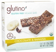 Glutino - Gluten Free Organic Bars Chocolate & Banana - 5 oz.