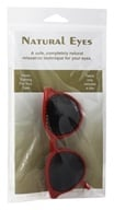 Image of Natural Eyes - Pinhole Glasses Kids Red