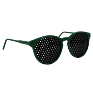 Natural Eyes - Pinhole Glasses Kids Green - $13.99