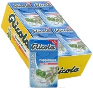 Image of Ricola - Breath Mints Sugar Free Peppermint - 0.88 oz.