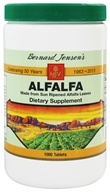 Bernard Jensen - Alfalfa 550 mg. - 1000 Tablets, from category: Herbs