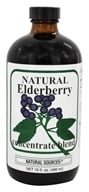 Natural Sources - Natural Elderberry Concentrate - 16 oz., from category: Herbs