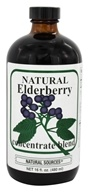 Natural Sources - Natural Elderberry Concentrate - 16 oz.