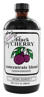 Unsweetened Concentrateブラックチェリー-16オンスNatural Sources