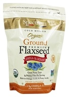 Spectrum Essentials - Organic Ground Premium Flaxseed - 14 oz., from category: Health Foods