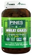 Pines - Wheat Grass Tabs 500 mg. - 250 Tablets - $11.01