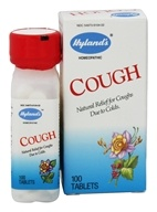 Hylands - Cough - 100 Tablets, from category: Homeopathy