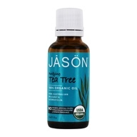 Image of Jason Natural Products - Purifying Tea Tree 100% Organic Oil - 1 oz.