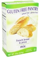 Glutino - Gluten Free Pantry French Bread & Pizza Mix - 22 oz. by Glutino