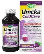 Image of Nature's Way - Umcka Cold Care Sugar-Free Grape Syrup - 4 oz.