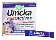 Nature's Way - Umcka FastActives Cold+Flu Relief Berry - 10 Packet(s), from category: Homeopathy