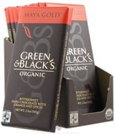 Green & Black's Organic - Maya Gold Dark Chocolate Bar - 3.5 oz. (708656100029)