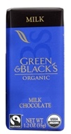 Image of Green & Black's Organic - Impulse Bar Milk Chocolate 34% Cocoa - 1.2 oz.