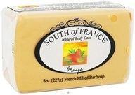 South of France - French Milled Vegetable Bar Soap Mango - 8 oz.