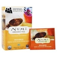 Numi Organic - Herbal Tea Rooibos - 18 Tea Bags by Numi Organic