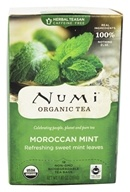 Numi Organic - Herbal Tea Moroccan Mint - 18 Tea Bags (680692101041)
