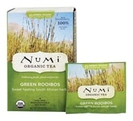 Image of Numi Organic - Herbal Tea Green Rooibos - 18 Tea Bags