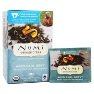 Numi Organic - Black Tea Aged Earl Grey - 18 Tea Bags, from category: Teas