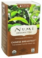 Numi Organic - Black Tea Chinese Breakfast - 18 Tea Bags by Numi Organic