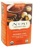 Numi Organic - Herbal Tea Rooibos Chai - 18 Tea Bags