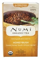 Numi Organic - Herbal Tea Honeybush - 18 Tea Bags (680692101034)
