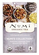 Numi Organic - Assorted Melange Numi's Collection Tea - 18 Tea Bags (680692101102)