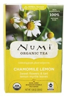 Numi Organic - Herbal Tea Chamomile Lemon - 18 Tea Bags - $5.46