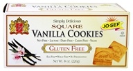 Josefs Gluten Free - Square Cookies Vanilla - 8 oz., from category: Health Foods