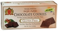 Image of Josefs Gluten Free - Square Cookies Chocolate - 8 oz.