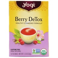 Image of Yogi Tea - Berry DeTox With Organic Hibiscus Caffeine Free Tea - 16 Tea Bags