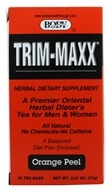 Body Breakthrough - Trim-Maxx Orange Peel Herbal Dieter's Tea for Men and Women - 30 Tea Bags (730908589849)