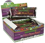 Greens Plus - Protein Bar Yogurt-Coated Wild Berry Burst - 2 oz., from category: Nutritional Bars